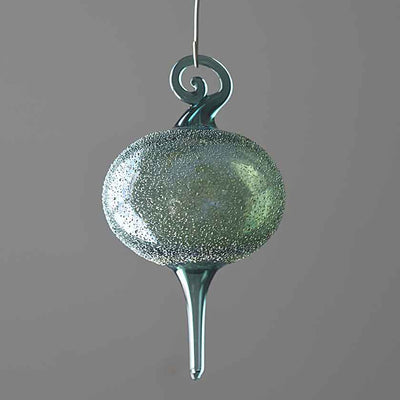 Blown Glass Ornaments- Green Collection