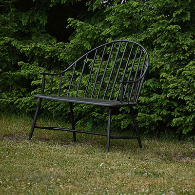Cast Aluminum Outdoor Windsor Settee