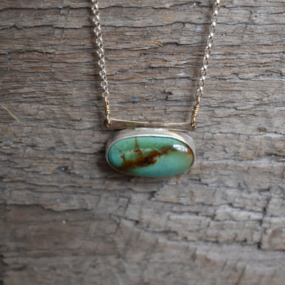Large Royston Turquoise Necklace