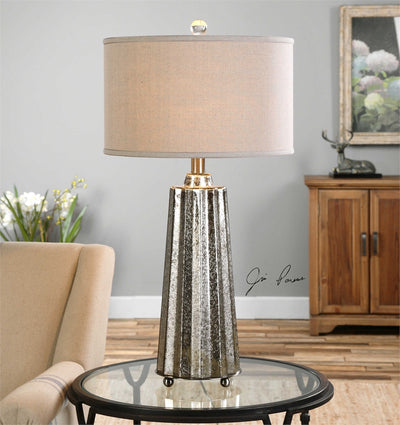 Parsen Mercury Glass Lamp