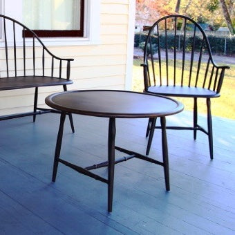 Cast aluminum outdoor table