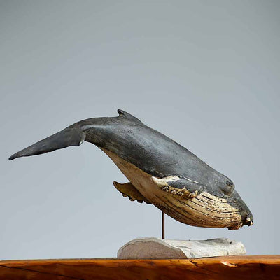 Humpback Whale Wall Sculpture