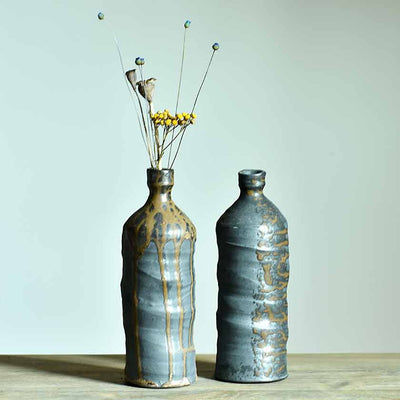 Wood Fired Ceramic bottles
