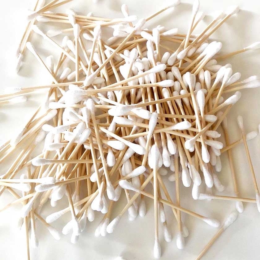 Bamboo and Cotton Ear Swabs