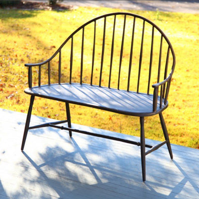Cast aluminum outdoor furniture. Made in the USA.