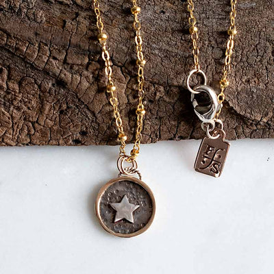 Moon & Star Mother & Daughter Necklaces