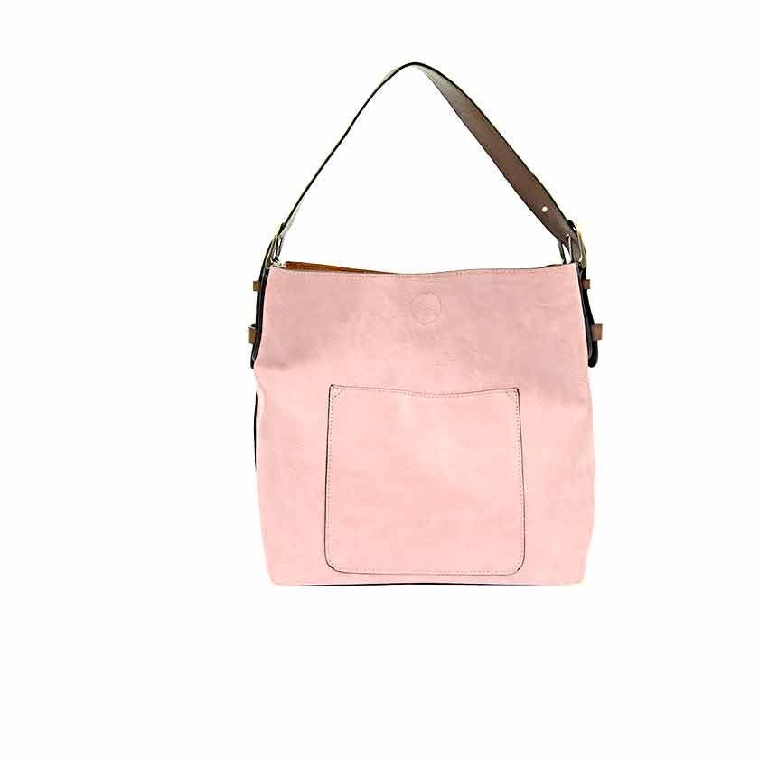 Vegan Leather Dusty Mauve Tote Bag