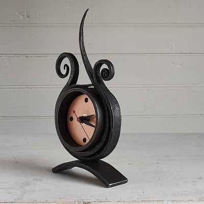 Forged Iron Metal Clock-#133