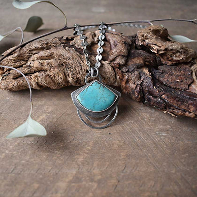 Turquoise Ripples Necklace