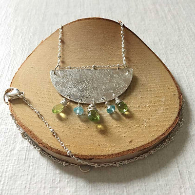 Fresh Start Peridot Necklace