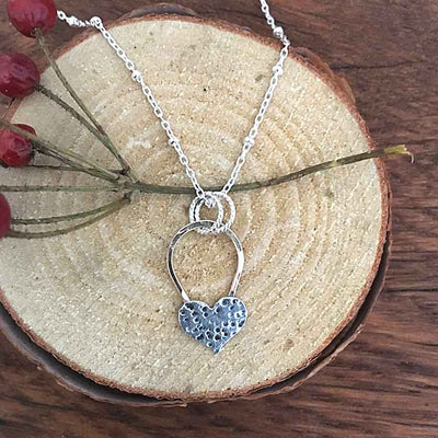 Speckled Amore Necklace