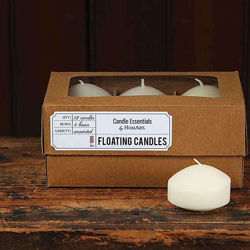 Floating Candles-Box of 12