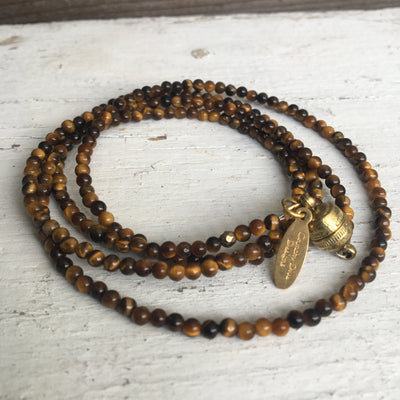 Beaded Wrap Bracelet or Necklace