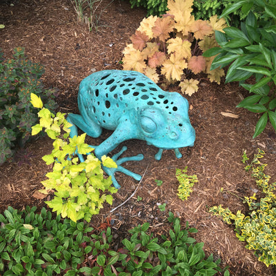 Bronze Tree Frog - Sculpture