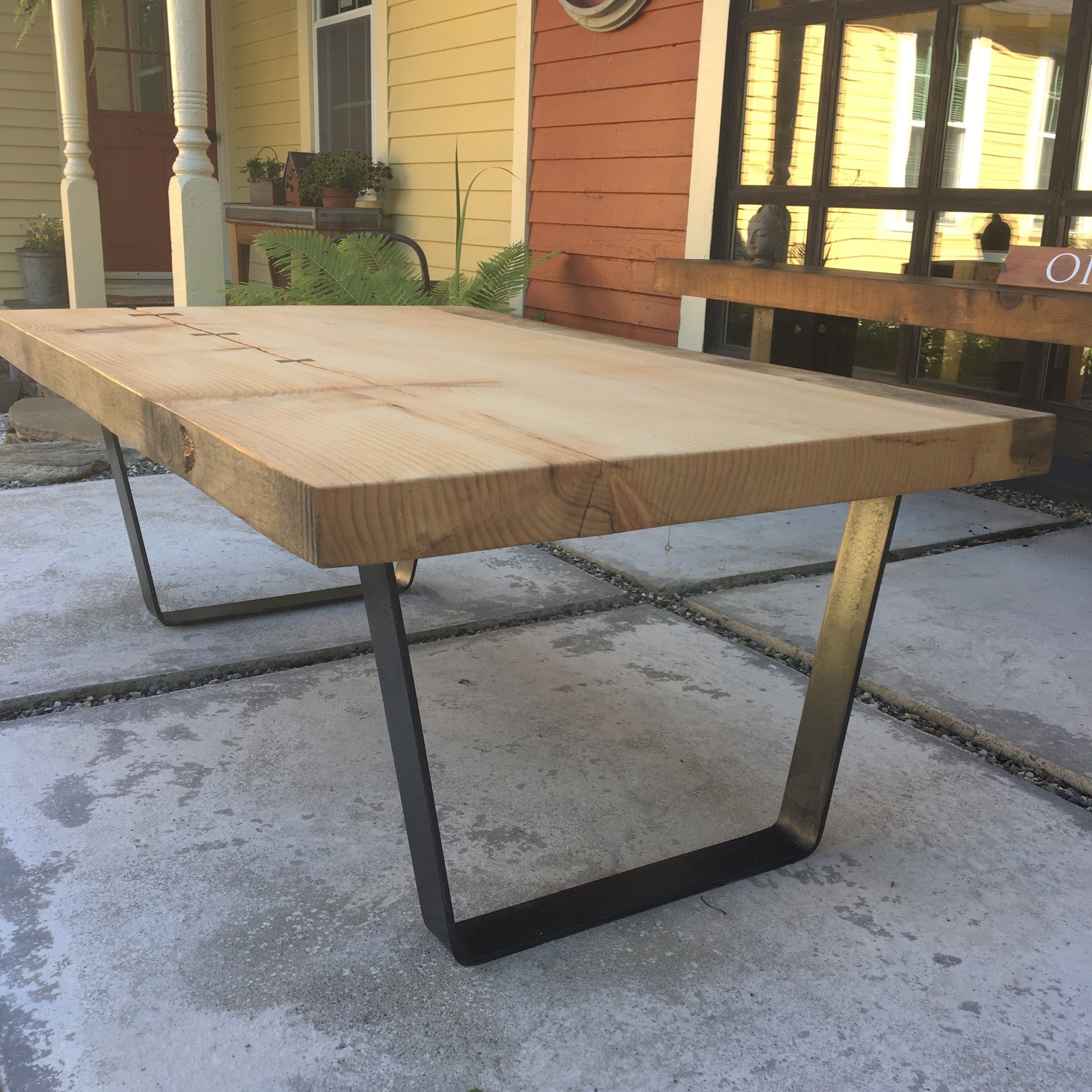 Live Edge Pine Coffee Table DaVallia