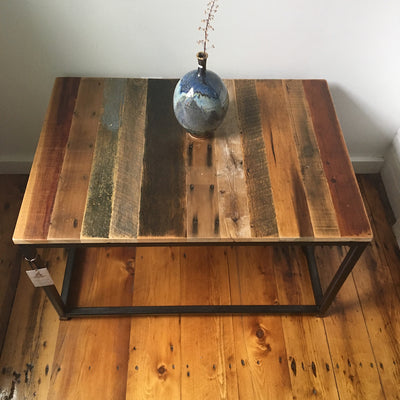 Rainbow Patina Coffee Table
