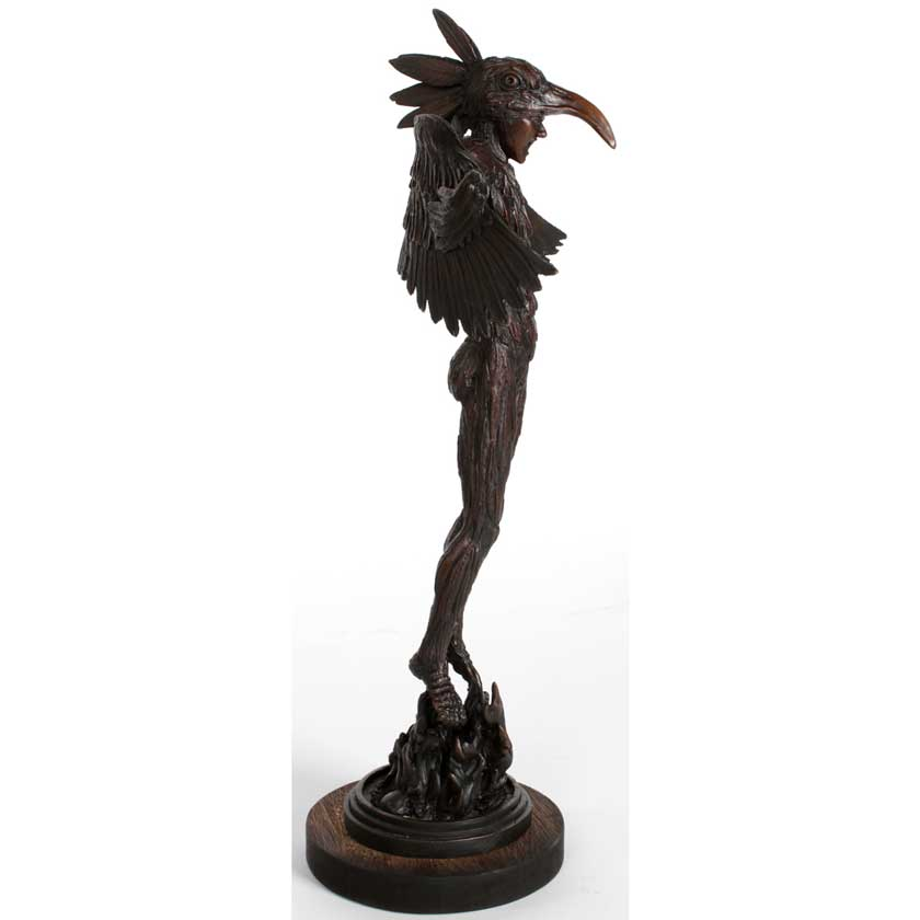Joe Lupiani bronze sculpture