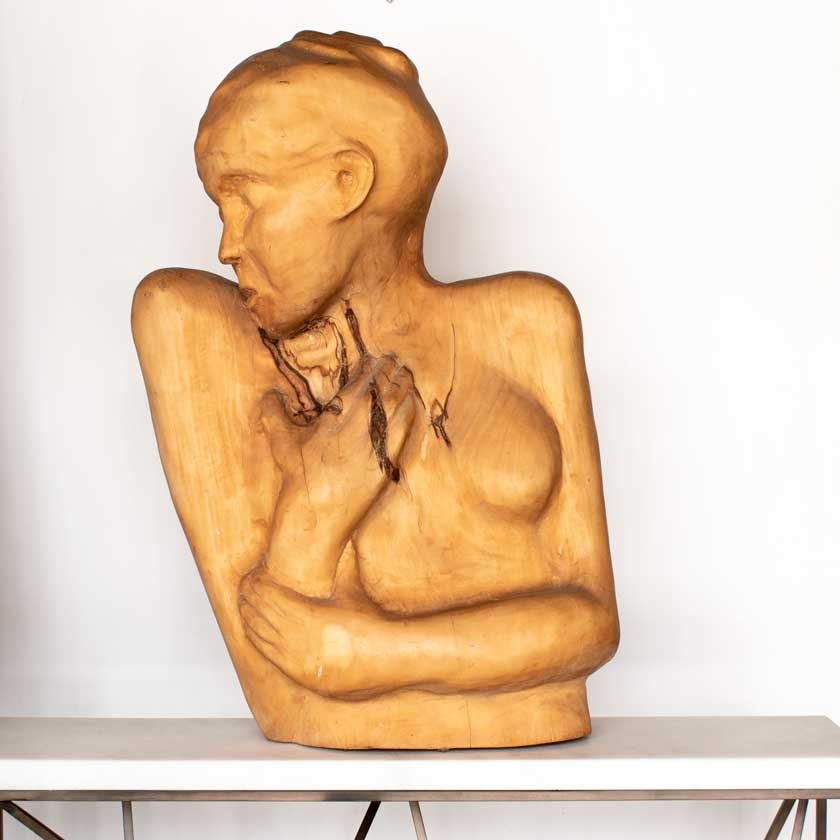 """Alison"" Wood Carving"