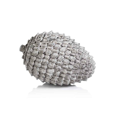 Decorative Grey Washed Pine Cones