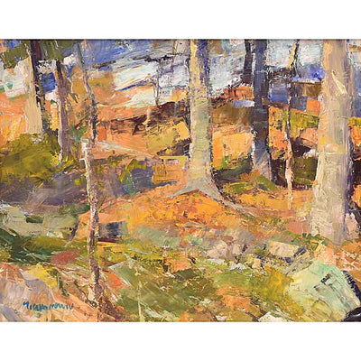 Moving on-Oil Painting 16x20 by VT plein-air painter Mary Giammarino