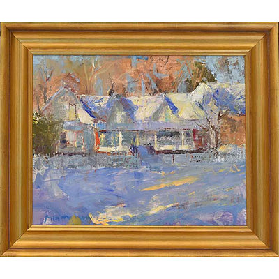 Dream-Oil Painting 16x20 by VT plein-air painter Mary Giammarino
