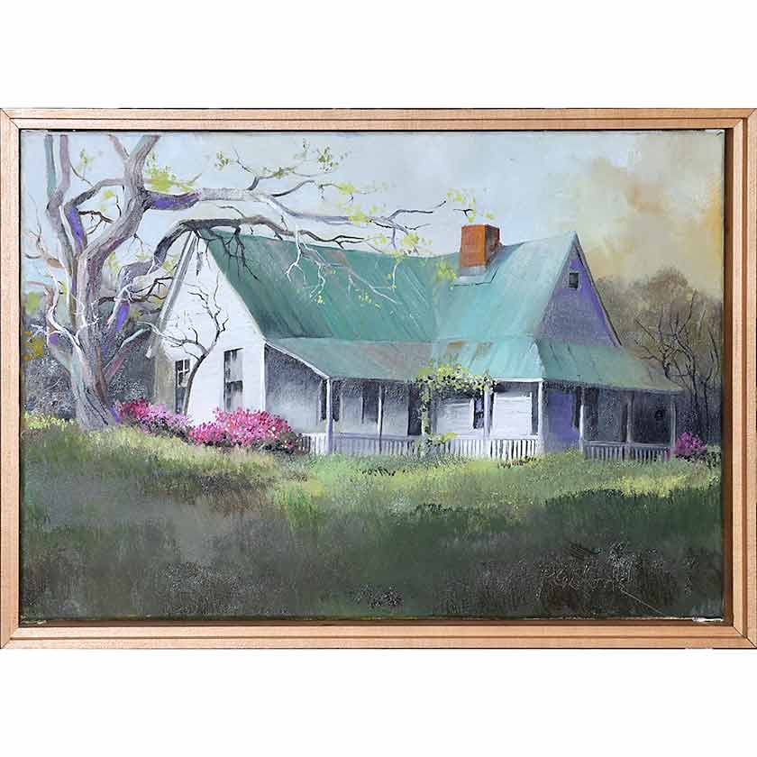 original oil painting by VT artist Paul Stone