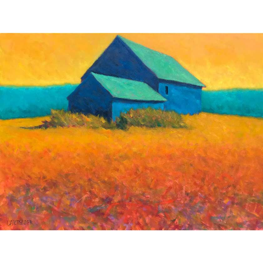 original oil painting by VT artist Peter Batchelder
