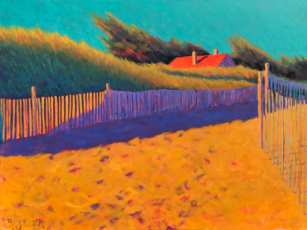 Original oil painting by artist Peter Batchelder