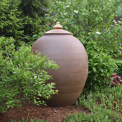"Ceramic Garden Vessel-40"" Tall"