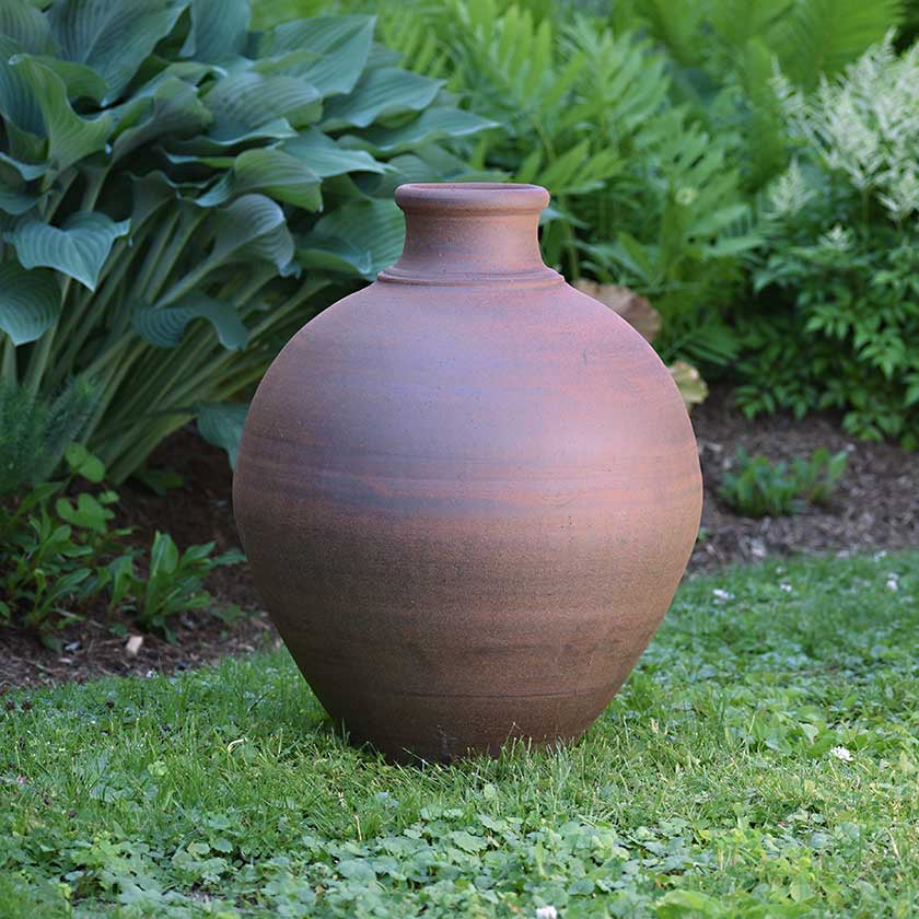"Ceramic Garden Vessel- 23"" Tall"