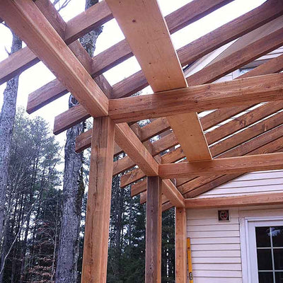 Timber Frame Screened In Porch