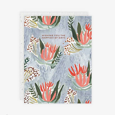 Floral Seedlings Cards