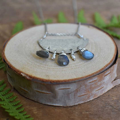 Thunderclouds Necklace