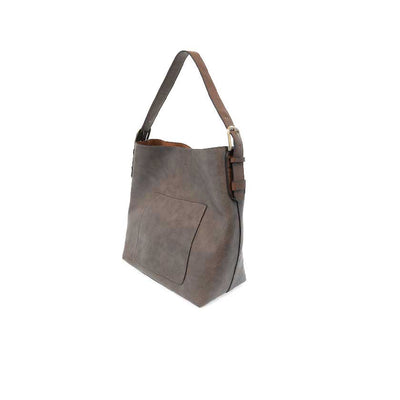 Vegan Leather Espresso Tote Bag