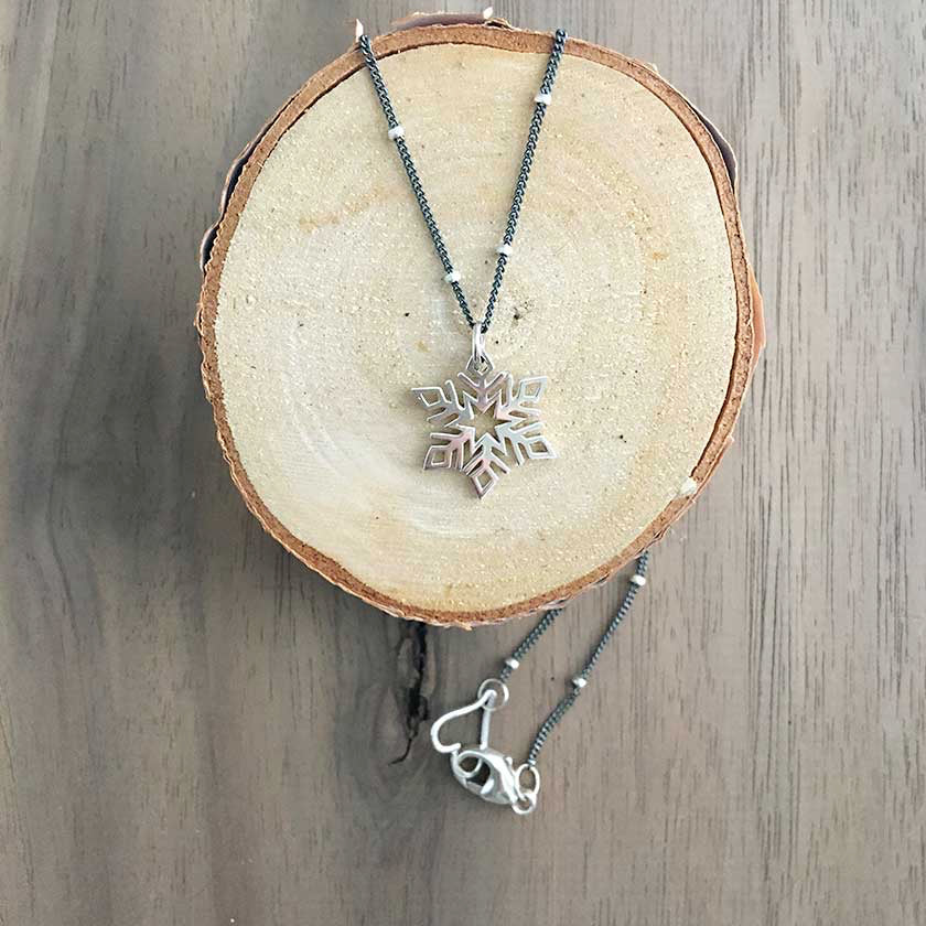 Snowflake Necklace I