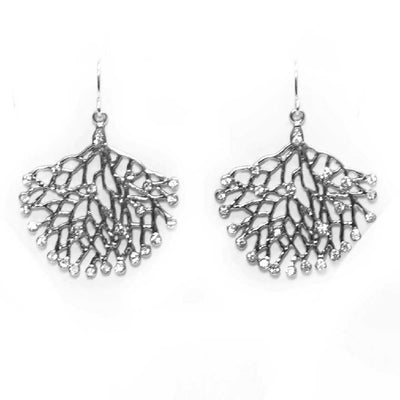 Crystal Branch Earrings