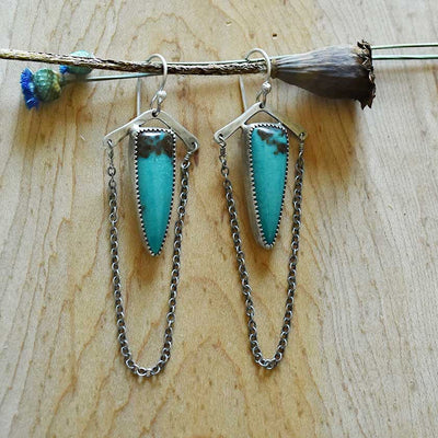 Turquoise Mountain Earrings