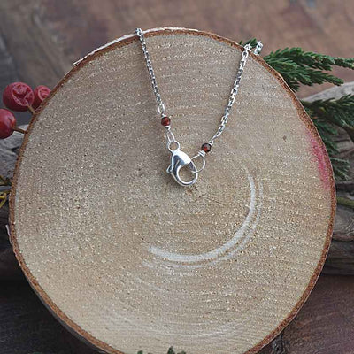 Teardrop Shield  Necklace