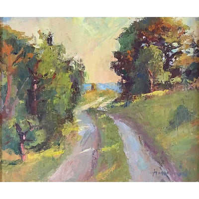 Ocean Painting by Vermont plein-air painter Mary Giammarino