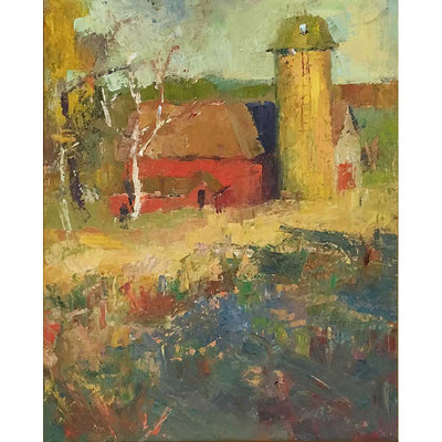 Vermont plein-air painter Mary Giammarino's Stumph Farm