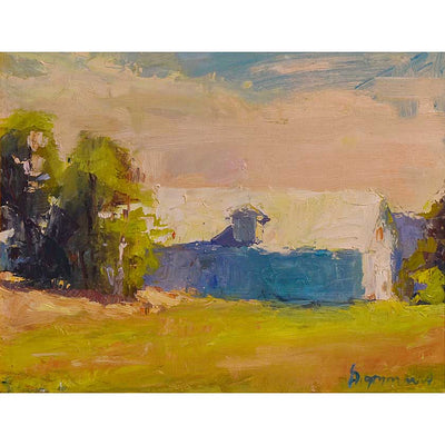 Plein-air painting by Vermont artist, Mary Giammarino