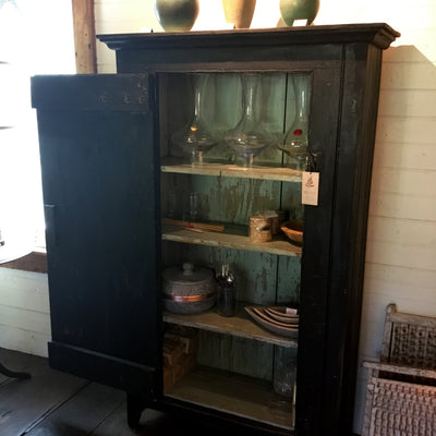 Black Farmhouse Cabinet
