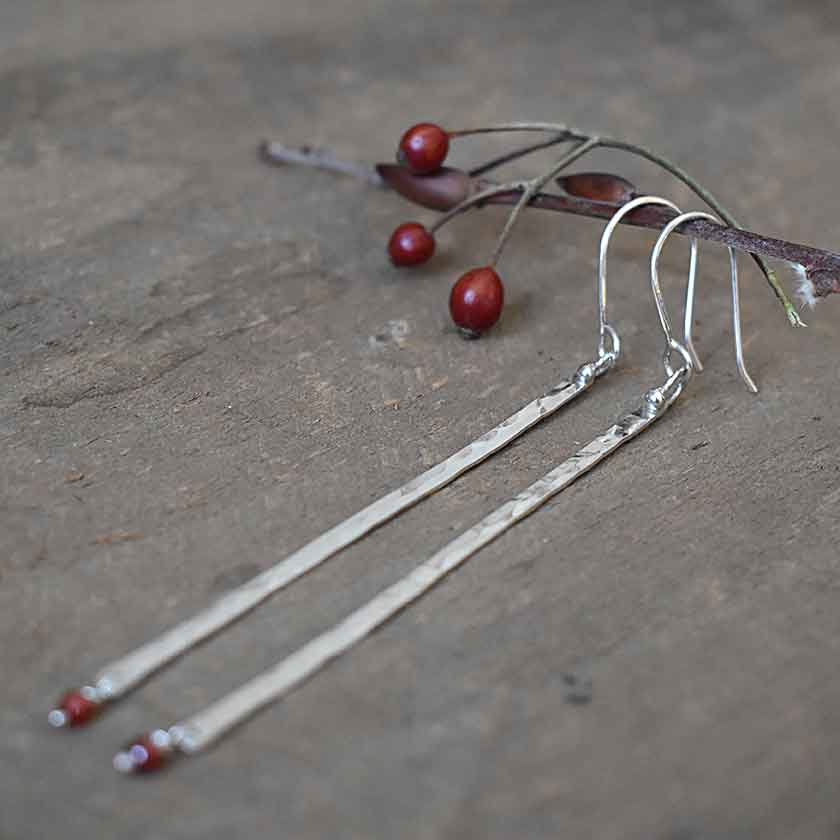 Light As A Feather Earrings-silver
