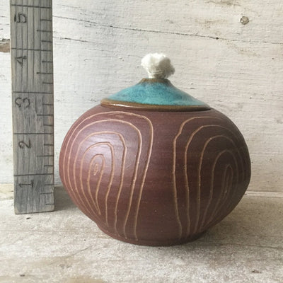 Ceramic Oil Burner- Aqua