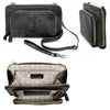 Clutch Handbag-Black