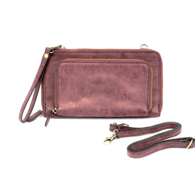 Clutch Handbag - Plum