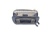 Clutch Handbag-Navy