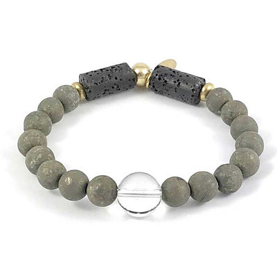 Diffuser Bracelet With Focal Bead