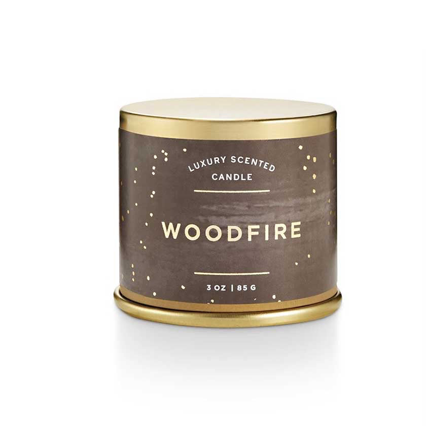 Woodfire Tin Candle (Small)