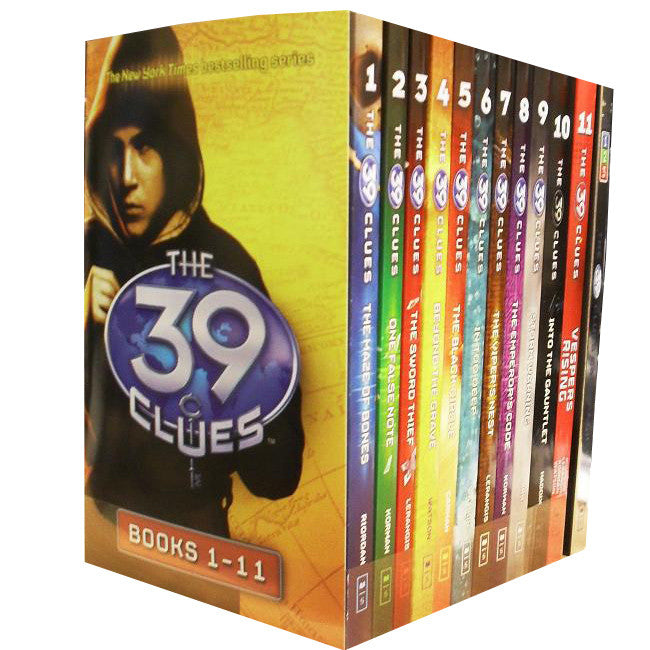 The 39 Clues Collection 11 Books Set Pack Series Collection Inc Digital Cards  by : Rick Riordan